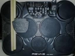 Título do anúncio: Bateria Eletrônica: Roland REVAS PB-350 (semi-nova)
