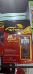 Multímetro Digital Profissional Bateria Capacímetro Dt9205a<br><br>