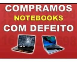 Título do anúncio: notebook funcionando ou não pago espécie avaliação na hr dinheiro
