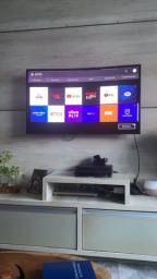 "Smart TV Samsung 40"" tela curva"