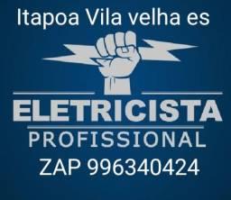Eletricista 24 horas vila velha e toda Grande Vitória
