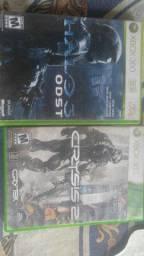 Halo e crysis Xbox 360