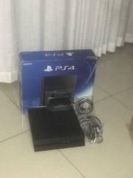 PS4 FAT 1TB+Controle+15 Jogos