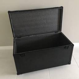 Hardcase, Case, Baú, Black c/ rodízio 100x50x50