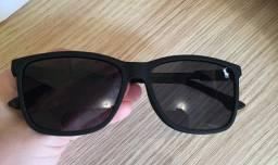 Óculos de Sol  preto fosco/ Polo masculino polarizado