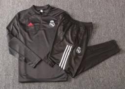 Título do anúncio: Agasalho Adidas Real Madri 20/21 G Novo!