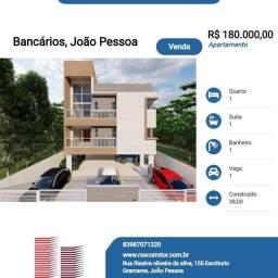 Título do anúncio: Apartamento para Venda em João Pessoa, Bancários, 1 dormitório, 1 suíte, 1 banheiro, 1 vag