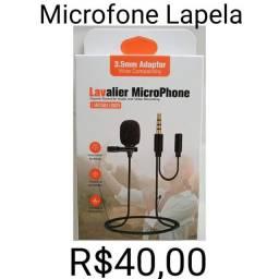 Título do anúncio: Microfone Lapela