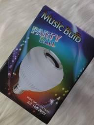 Título do anúncio: Lâmpada LED Bluetooth com Som e Controle