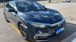 Honda Civic Touring azul 2021/2021 km 7.557