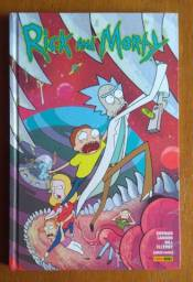 Encadernados capa dura Rick and Morty Vol. 01 e 02