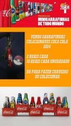 Garrafinhas Colecionáveis/chaveiro Coca Cola Copa 2014