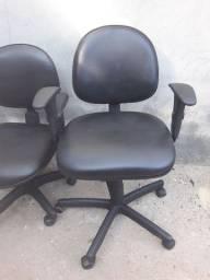 Vendo cadeiras giratória