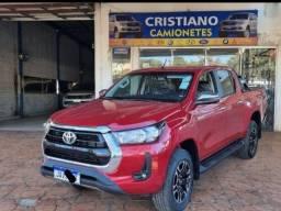 Título do anúncio: Toyota hilux srv 2021 0km