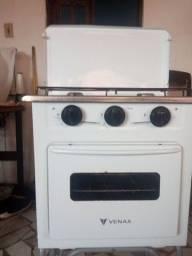Fogão de 2 bocas e forno