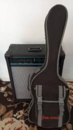 kit: Guitarra Memphis e Amplificador Oneal