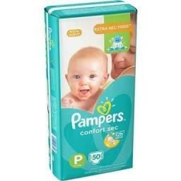 Vendo fraldas Pampers Confort Sec tamanho P