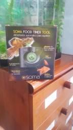 Alimentador automatico para aquarios Novo
