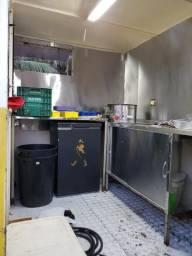 Vende - se Trailer de Food Truck Montado