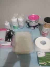 Kit completo de depilação