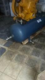 Compressor 60 pés com motor 15 cv