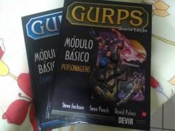 Livros Básicos Gurps 4e Personagens + Campanhas