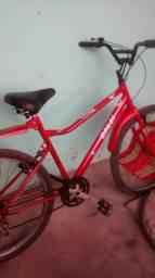 Bicicleta Calói Terra Aro 26. com Marcha em bom estado,andando bem otimo preço