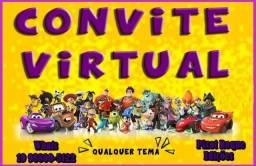 Convite Animado Virtual