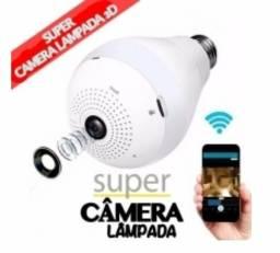 Super câmera lâmpada 3D inteligente 360°