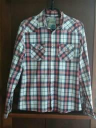 Camisa xadrez TAM P