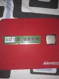 Memória RAM + processador