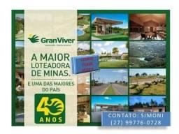 SCL -Imperdível - Lote plano de 420m² - frente 14m - em Serra Sede - Cidade Verde Serra