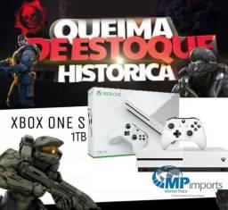 Xbox One S 1tb Edition 4k / op.12x / Novo! Loja! Ninguém jamais venderá mais barato!