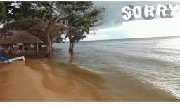 Vendo ou troco terreno na praia de Porto novo