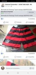 Bermudas do Flamengo impermeáveis