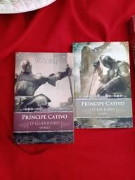 livro príncipe cativo 1 e 2
