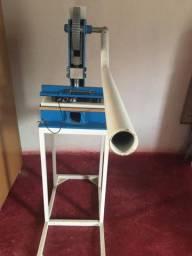 Máquina de chinelo da compacta print e fresadera de mesa