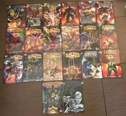 Coleção Encadernados Marvel (Guardiões da Galáxia, Thanos)