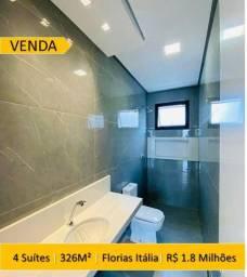 Vendo Casa no Florias Italia, 4 suites, em 326 m² de contrução