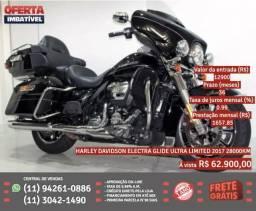 Harley-davidson electra glide ultra limited 2017 28000km R$62900 comprar usado  Polvilho, Cajamar