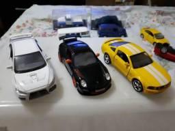 Kit 03 Miniatura Porsche / Camaro / Lancer