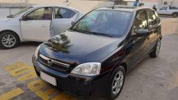 GM Corsa Maxx 1.4 2012 Preto Completo + Air Bag e GNV em Exc. Estado