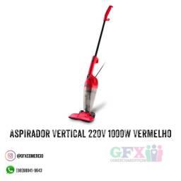 Aspirador Vertical 220V 1000W Vermelho