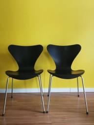 2 Cadeiras Series 7 Fritz Hansen By Arne Jacobsen Usadas, usado comprar usado  Santa Maria