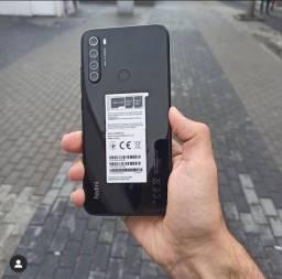 Xiaomi Redmi Note 8 - 64GB Preto (pronta entrega/lacrado)
