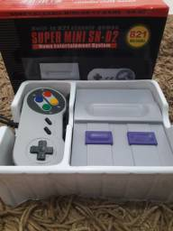 Super mini SN 02 nintendo 413 jogos classicos