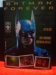 Álbum Figurinhas Batman Forever Completo
