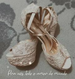 Sandália para casamento