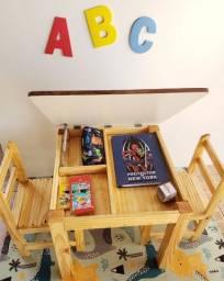 Mesas Infantis e dobrvel