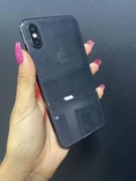 iPhone X 256GB preto ( capinha e película grátis )